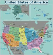 the united states of america and neighbouring countries map united states of america wikitravel