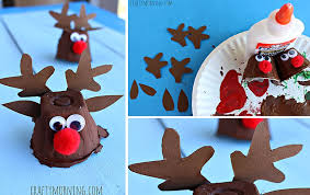 Kids Reindeer Crafts - reindeer christmas craft 25 unique reindeer craft ideas on