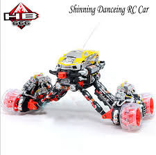 light up remote control car rc truck quite big elecric spin and drift rc toy music dancing