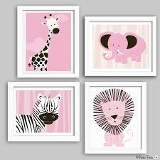 contemporary ideas baby nursery wall art interesting jungle