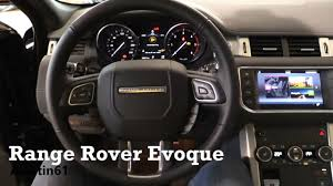 land rover 2007 interior 2017 range rover evoque interior review youtube