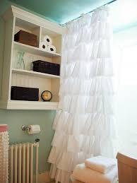 Black Ruffle Shower Curtain Ruffle Shower Curtain Uk Scifihits Com