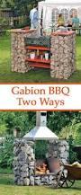 Backyard Bbq Grills by The 25 Best Gabionen Grill Ideas On Pinterest Gartenmauer