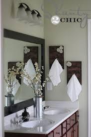 bathroom towel rack ideas diy towel racks for a chic bathroom update fabric rosette green