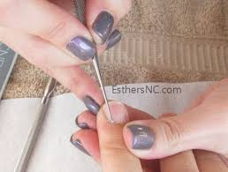cnd led l problems shellac nails at home