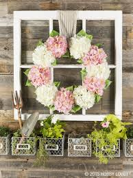 springtime wreaths bunches of blooms keep this springtime wreath both simple and