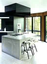 ilot central cuisine table ilot central bar cuisine idées décoration intérieure