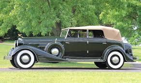 1933 cadillac v 16 fleetwood 4 door convertible sedan dark green