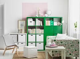 Wohnzimmer Planen Ikea Ein Wohnzimmer Mit Kallax Regalen In Grün Und In Weiß Voller