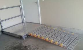 Wheelchair Ramp Handrails A Ramp Wheelchair Ramp Platform With Or Without Handrails