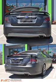 ford falcon tail lights smoked red led tail lights for ford falcon fpv fg sedan xt g6 xr