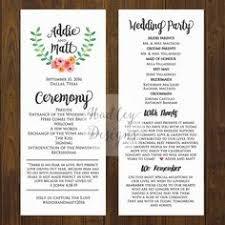 05295814a10cfb431f41ebe6256854be wedding program examples wedding