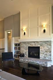 contemporary fireplace stone designs modern cast surround