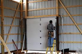Overhead Barn Doors Overhead Barn Doors Pole Barn Garage Door Opener Learntolive Info