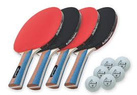 Amazon Ping Pong Table Amazon Com Killerspin Jetset4 Table Tennis Set With 4 Ping