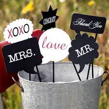 wedding photo props word photo booth prop set photo booth props couplesoncakes