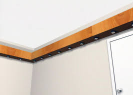 Wooden Wall Shelves With Brackets How To Installing A Floating Shelf With Recessed Lighting Hgtv