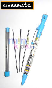 classmate pencil classmate led pencil sky blue minikids in