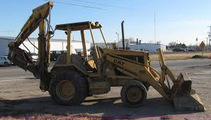 1989 caterpillar 426 backhoe item g2294 sold march 27 c