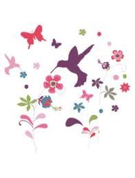 fleurs dans une chambre 33 stickers fleurs et oiseaux chambre fille vertbaudet avis