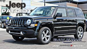 jeep suv 2016 black 2016 jeep patriot high altitude interior exterior tour youtube