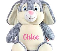 personalized easter bunnies personalized easter bunnies plush easter bunny monogram