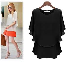 womens tops and blouses wear shirt chiffon tops formal blouse