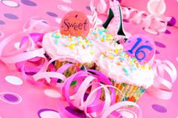 writing sweet sixteen birthday thank you cards invitations