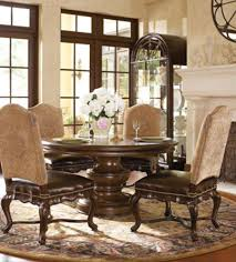 Tuscan Style Dining Room Furniture Tuscan Dining Chairs Hills Of Tuscany Dining Set American Home