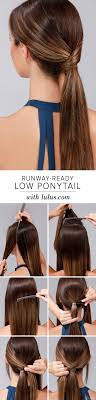 ponytail haircut where to position ponytail best 25 low ponytails ideas on pinterest low ponytail