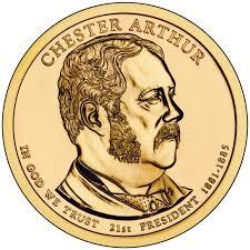 arthur chester arthur presidential 1 coin u s mint