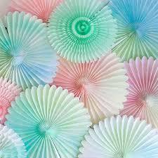 diy fans watercolor fans diy
