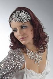 1940s hair accessories 1940s diamante vintage inspired bridal wedding headbands bd068