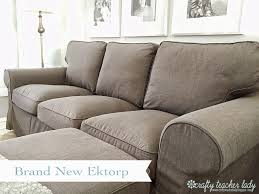 Grey Slipcover Sofa by Crafty Teacher Lady Review Of The Ikea Ektorp Sofa Series