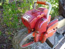 vintage chainsaw collection homelite 663