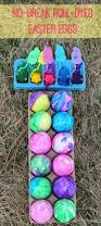 Easter Decorations Eggs by Lille Punkin U0027 Use Plastic Eggs For No Break Roll Dyed Easter