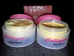 Resmi Collagen Asli paket collagen plus vit e whitening sabun
