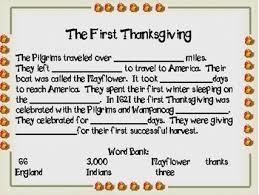 thanksgiving cloze by debbie deals teachers pay teachers