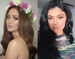 hair color for pinays in focus these pinay celebrities and hollywood stars can totally