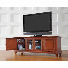 decorating alexandria natural wood top portable kitchen island by cambridge low profile tv stand by crosley furniture in brown for home furniture ideas