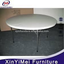 6ft Round Dining Table Plastic Table For Restaurant Plastic Table For Restaurant