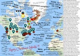 Christmas Map 2016 Igloolik Christmas Hampers Christmas Card And Giving Map