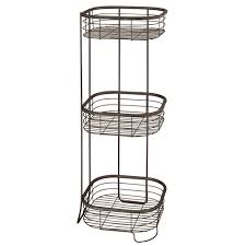 3 Tier Bathroom Stand by Amazon Com Interdesign Forma Free Standing Bathroom Or Shower