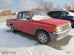 mazda b series 1987 mazda b series truck b2000 regular cab in red 503491