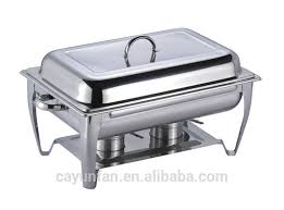 9 liter capacity stainless steel chaffing dish warming tray food
