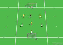 small sided game coaching soccer conditioning