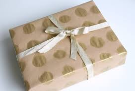 gold gift wrap gift wrapping ideas