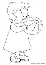 Caillou Coloring Pages Coloring Book