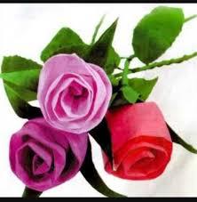 cara membuat bunga dengan kertas hias cara mudah membuat bunga dari kertas krep kecil sederhana dr sah
