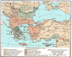 Map Of Ancient Greece City States by The Byzantine Period